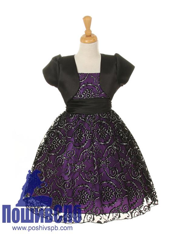 Производство детских платьев купить оптом