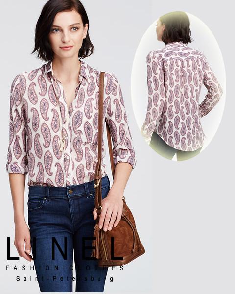 b5150448f538e Модная женская блузка LINEL, Модные женские платья LINEL :: Лица ...