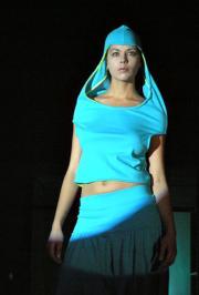 Спортивный шик в голубом джерси, Индивидуальный пошив одежды :: Лица...