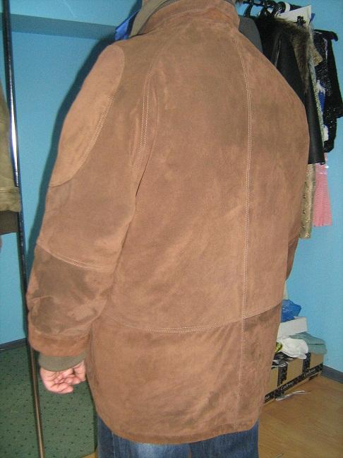 Сшить куртку из замши