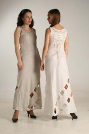Платье льняное ЛП 3, Наша льняная одежда :: Лица компании.